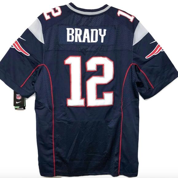 Tom Brady Nike Sz XL Stitched Jersey New England